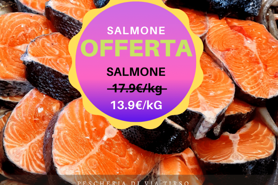 salmone in offerta